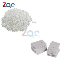 100 set TO-220 Transistor plastique rondelle disolation rondelle + TO-220 isolation écologique particules isolantes Transist