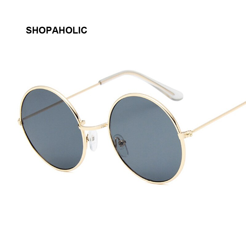 Round Small Sunglasses Women Brand Designer Vintage Metal Cheap Sun Glasses for Female High Quality