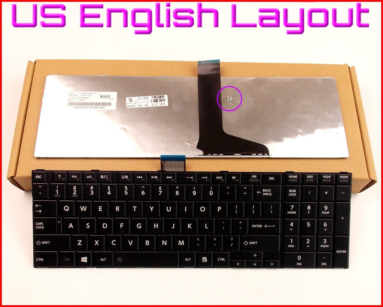 Nouveau Clavier Version Anglaise pour Toshiba Satellite L955D L955 P850 P855 870 P870D P875 P875D L855D S955 L950D Ordinateur Portable