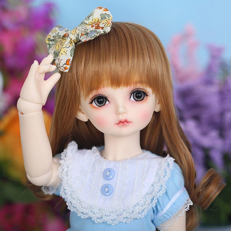 RL Doll RL Holiday Ribbon  bjd sd dolls 1/4 body model girls High Quality resin baby doll