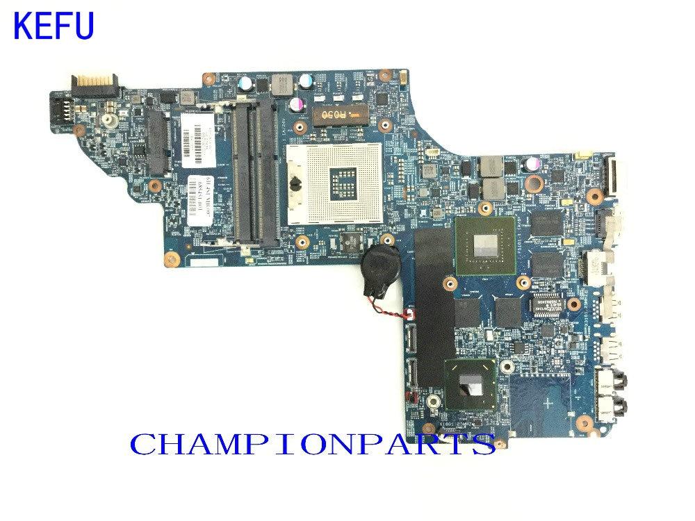 KEFU 100% протестированная 682016-501 Материнская плата для ноутбука HP PAVILION DV7 DV7T-DV7-7000 ноутбук с видеокартой 630M 2GB