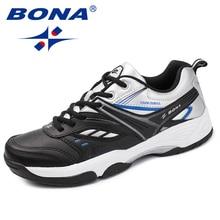 BONA nouveauté classiques Style hommes chaussures décontractées en cuir fendu hommes en plein air mode baskets chaussures confortable rapide livraison gratuite
