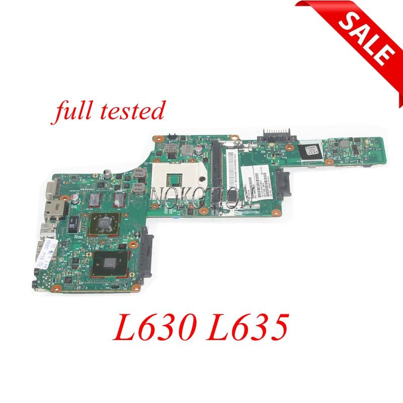NOKOTION SPS V000245030 V000245110 اللوحة الرئيسية لتوتوشيبا الأقمار الصناعية L630 L635 اللوحة الأم للجهاز المحمول HM55 DDR3 ATI GPU + وحدة المعالجة المركزية الحرة