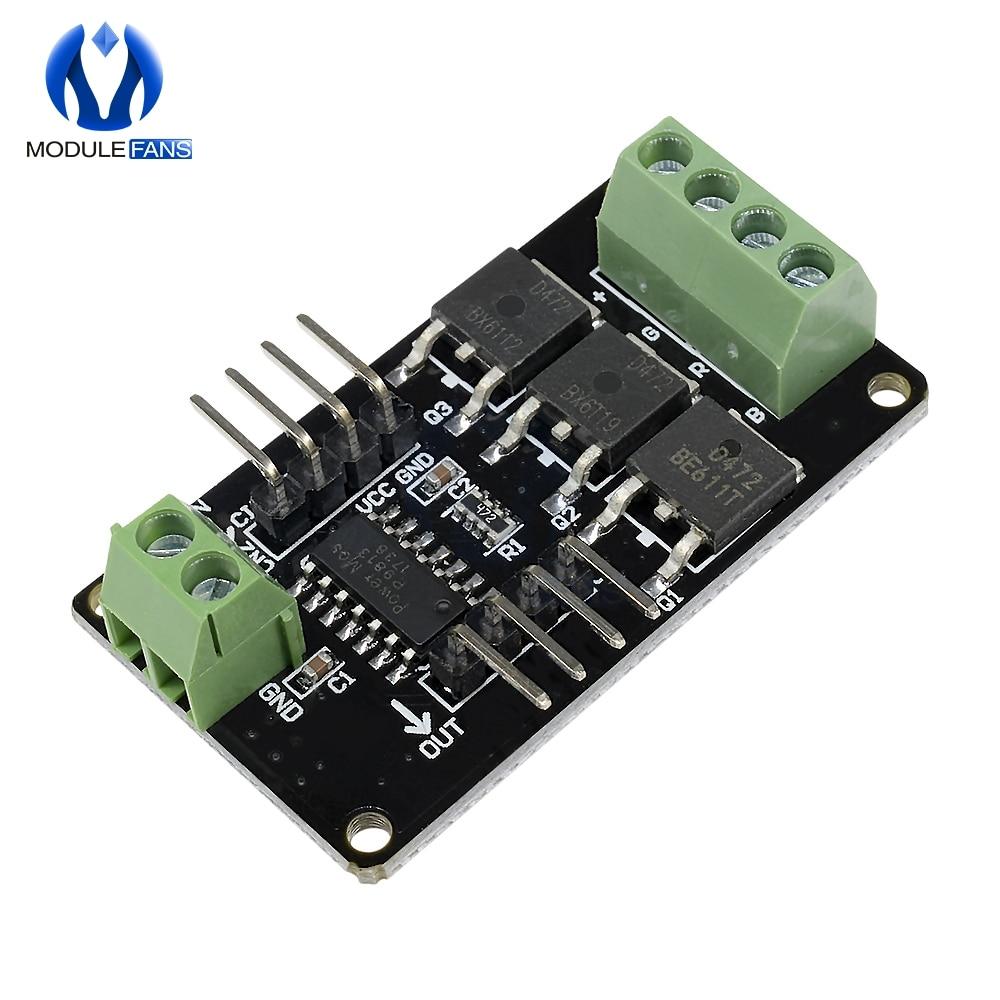 Para Arduino UNO R3 para sistema MCU tira de LED módulo de controlador de v1.0 para Arduino STM32 AVR 12V DC 5V MCU Color RGB de UNO