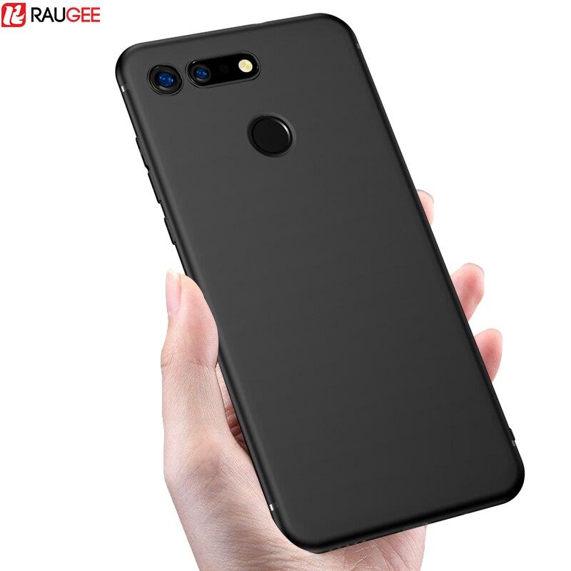 Матовый чехол Raugee для Huawei Honor View 20, силиконовый роскошный бампер, мягкий чехол из ТПУ для Huawei Honor V20 V 20, чехол