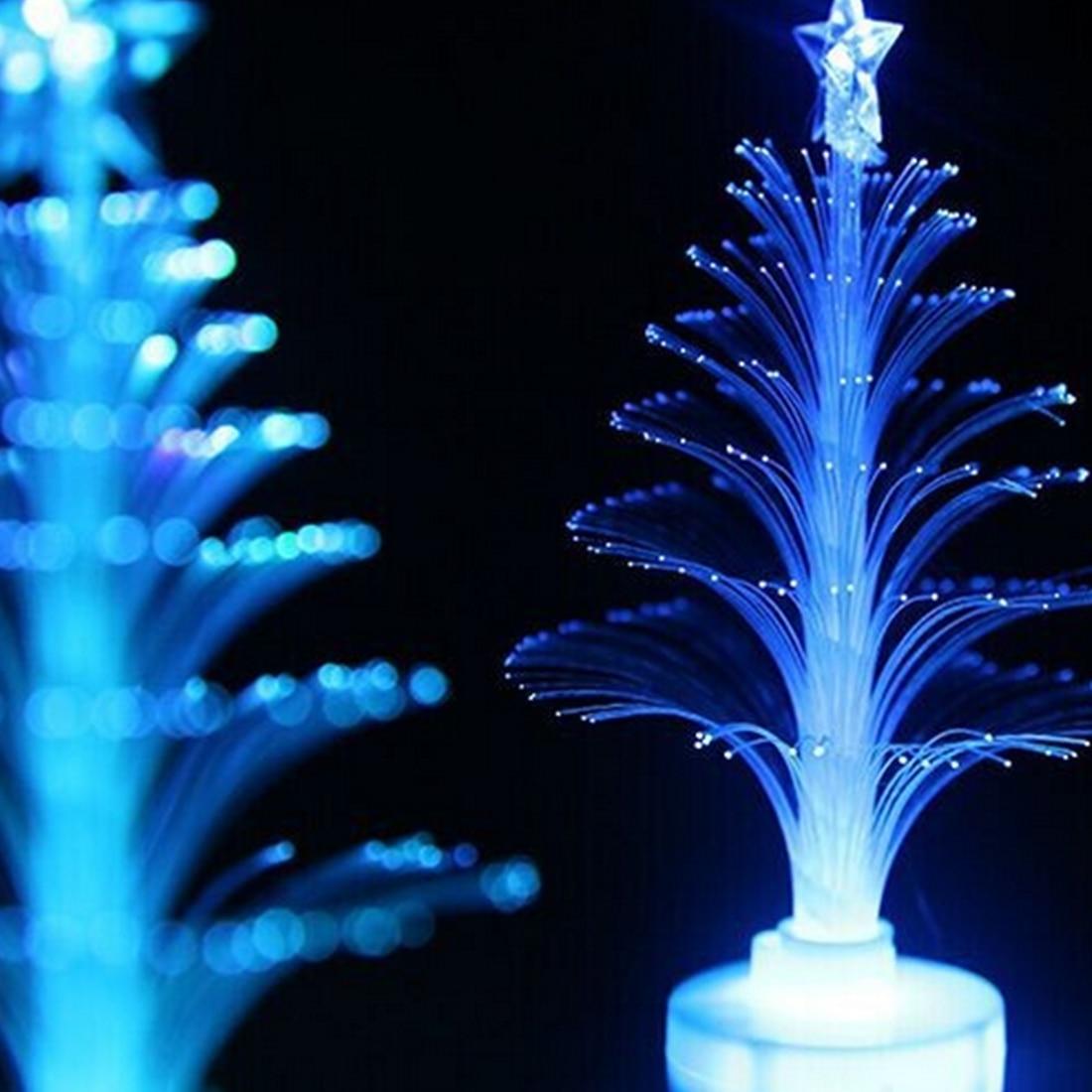 Decoración del hogar LED decoración de escritorio pequeño árbol de navidad regalo de Navidad colorido lámpara de noche