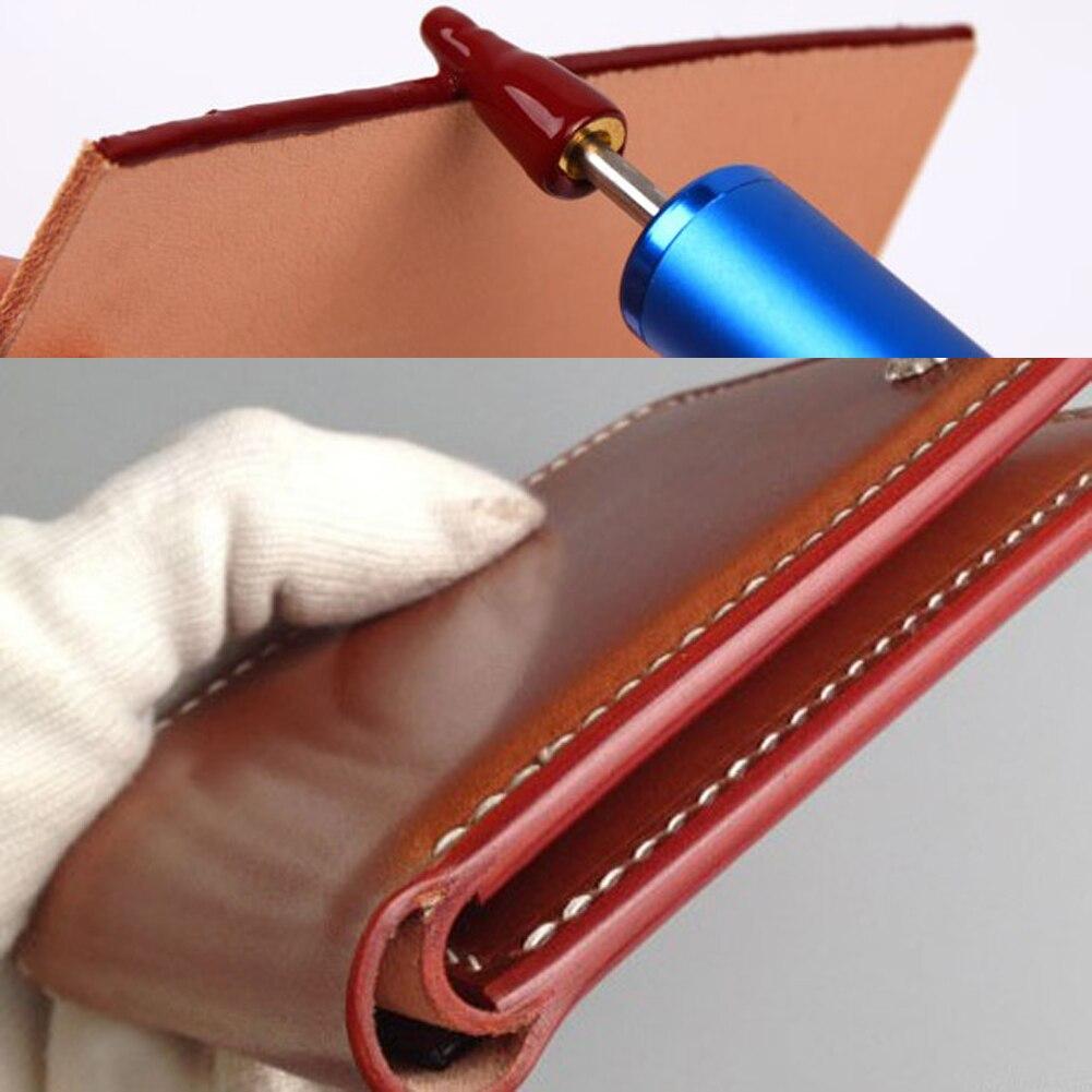 Латунная краевая ручка для масляной живописи DIY кожаный инструмент для обработки краев роликовая ручка для масляной живописи аксессуары дл...