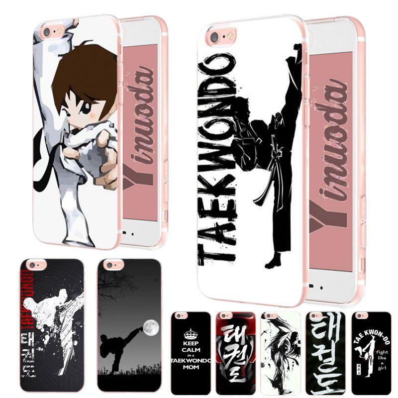 Yinuoda Taekwondo increíble paisaje suave tpu funda para iPhone x XS XR XsMax 6 6s 7 7plus 8 8Plus 5 5S SE caso
