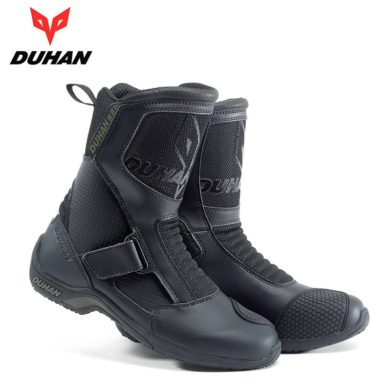 DUHAN-أحذية للدراجات النارية ، أحذية للدراجات النارية للرحلات ، لسباق موتوكروس ، للدراجات النارية ، Bota Motociclista