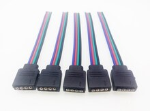 4Pin/RGB 5Pin/RGBW RGBWW conectores para RGB/RGBW/tira de LED RGBWW