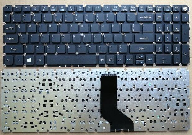 Eua novo teclado do portátil para acer n15q1 n15w7 n15w6 n15q12 inglês preto