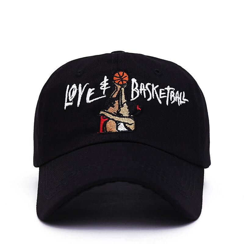 2017 nuevos sombreros de papá amor y baloncesto Gorras bordadas Snapback negro gorra de béisbol película OG 90s Vtg Hip Hop verano sombrero para hombres mujeres