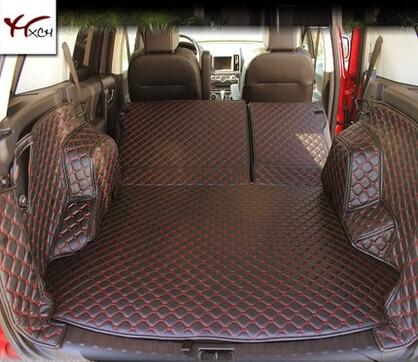 Good! Special trunk mats for Land Rover Freelander 2 2015-2007 durable waterproof boot carpets for Freelander 2010