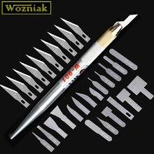 Wozniak haute qualité carte mère BGA IC couteau NAND enlever la colle bord lame mince outil dentretien Mobile + lame droite dure