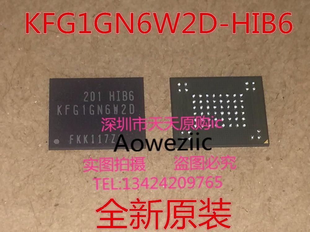 Free Shipping 5PCS/LOT KFG1GN6W2D-HIB6 KFG1GN6W2D HIB6 BGA stock