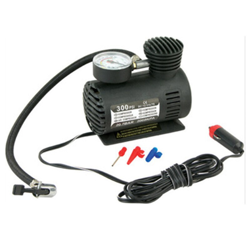 Mini bomba inflable Universal para coche de 12 V, compresor de aire eléctrico para coche, bomba de aire eléctrica para coche