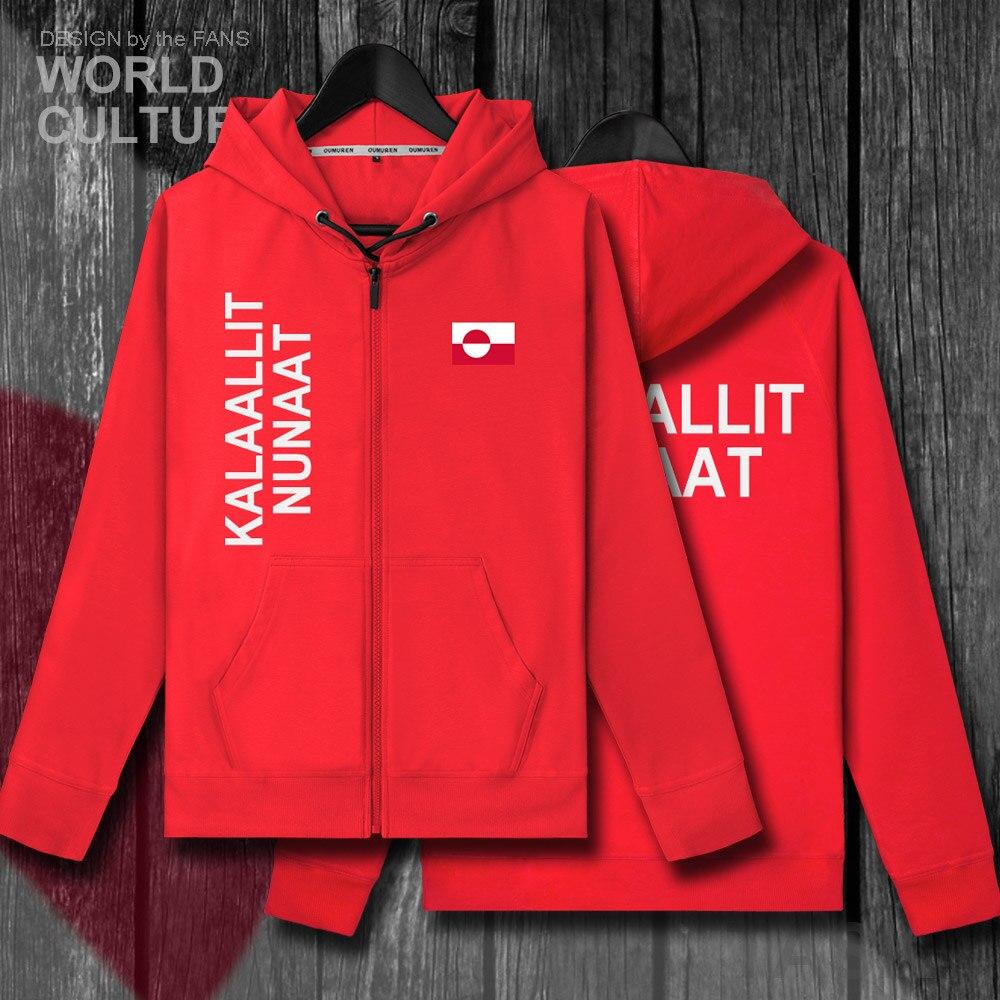 A gronelândia GRL Kalaallit Nunaat Greenlandic Inuit Greenlander GL homens polares hoodies roupas de inverno revestimento dos homens camisola treino