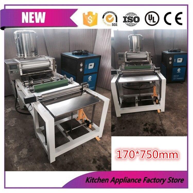 Máquina automática para fabricar láminas de cera de abejas, con rodillo, tamaño 170x750mm