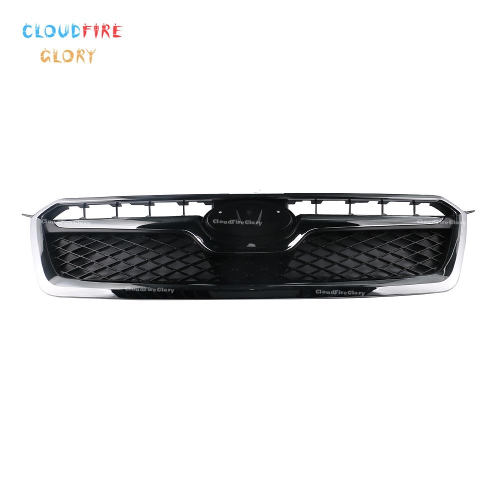CloudFireGlory 91122FJ020 Front Bumper Grille Radiator Air Flow For Subaru XV Crosstrek Honeycomb 2013 2014 2015