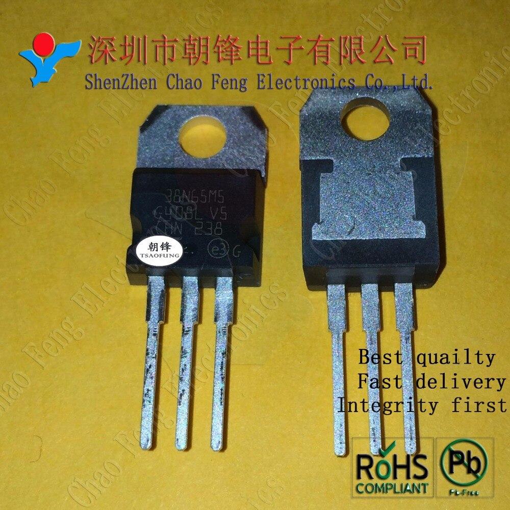 5 uds. STP38N65M5 38N65M5 STP38N65M TO220 nuevo Original