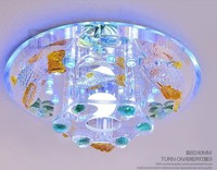Led dome light lamp vestibular porch corridors delicate shells smallpox lamp act the role ofing crystalline light