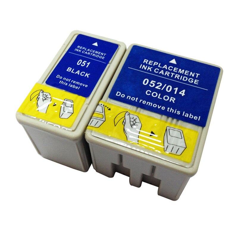 Cartucho de tinta T051 T052 S020108 S020189 T014 S020089 S020191 de reemplazo para Epson Stylus 740i 1520K 2500 Pro cartuchos de impresora