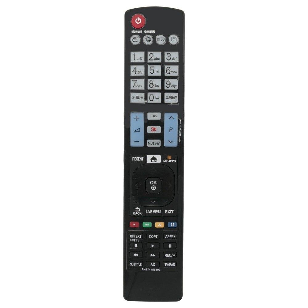 Beyution Новый AKB74455403 замененный пульт дистанционного управления подходит для LG 49LF640V 50LF650V 50LF652V 50LF653V Smart TV