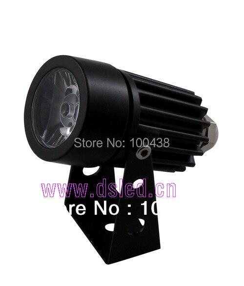 Free shipping !! high power,good quality,3W LED outdoor spotlight,LED corner light,DS-06-10-1W,12VDC,110-250VAC