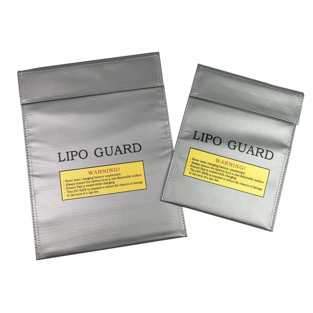 2019 novo rc lipo li-po bateria à prova de fogo segurança guarda saco de armazenamento seguro carga saco de carregamento tamanho 180x230mm ou 230x300mm