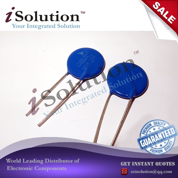10 unids/lote Varistor S20K275 S20 K275 430V original auténtico