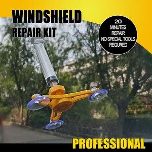 Image 4 - LEEPEE DIY набор для Ремонта Лобового Стекла, автомобильный инструмент для ремонта стекла, автомобильный Стайлинг, полировка экрана окна, чип трещины, автомобильный комплект для обслуживания