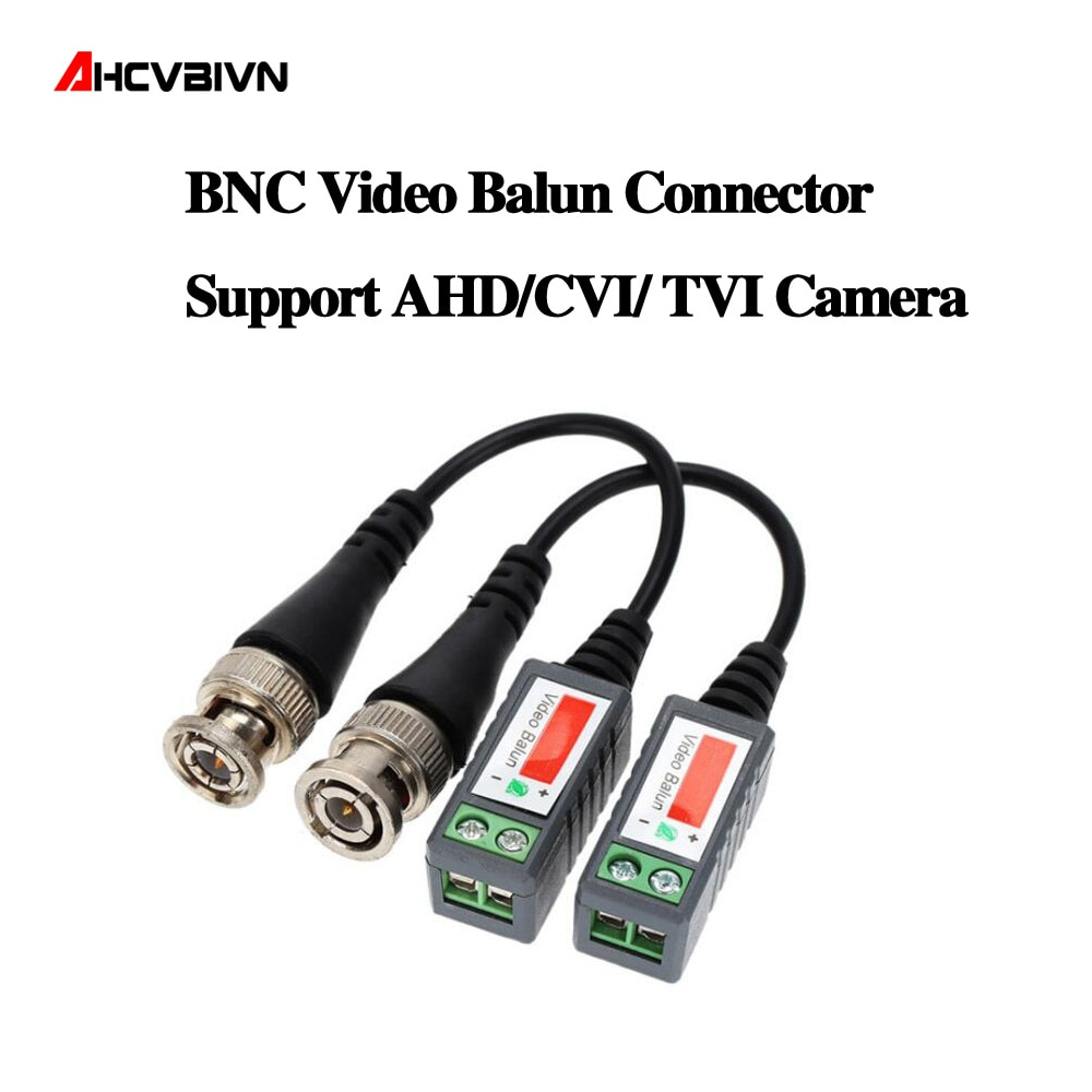 10 шт. ABS пластиковые CCTV видео балун CCTV аксессуары пассивные трансиверы 2000ft расстояние UTP балун BNC кабель CAT5 кабель