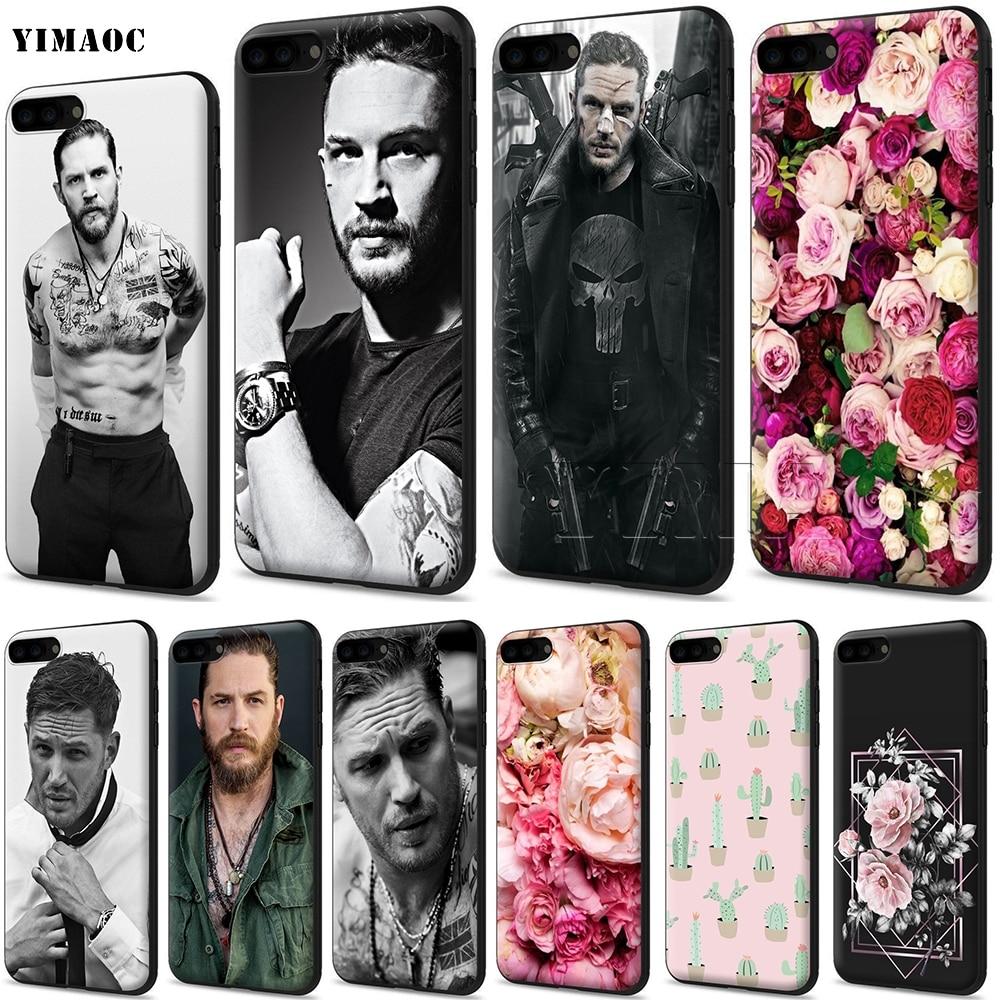 YIMAOC Tom Hardy funda de silicona suave para iPhone 11 Pro XS Max XR 8X8 7 6 6S Plus 5 5s se