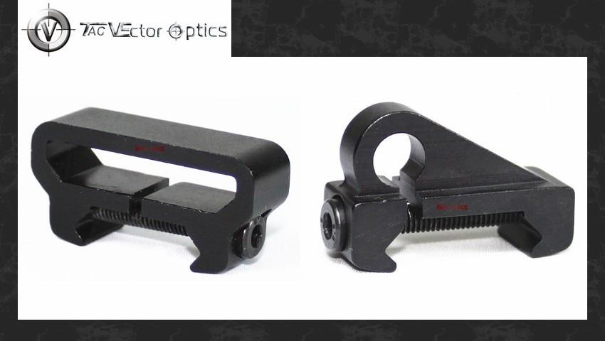 1 par de eslinga óptica de Vector giratorio con cable y enganchado Sling Weaver montaje adaptador pistola de caza SAKO Colt Ruger Accesorios