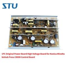 Carte dalimentation haute tension dorigine 1 PC pour carte de commande Konica Minolta bizhub Press C8000