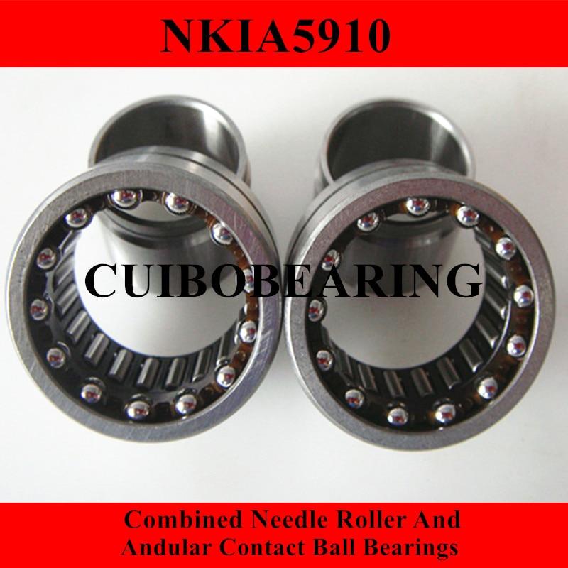 NKIA  Combined Needle Roller And Angular Contact Ball Bearing NKIA5910 50X72X30