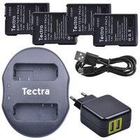 1500mAh 4pcs EN-EL14 EN-EL14a Battery for Nikon D3500 D3100 D3200 D3300 D3400 D5200 P7000 D7800+USB Dual Charger+AC Adapter