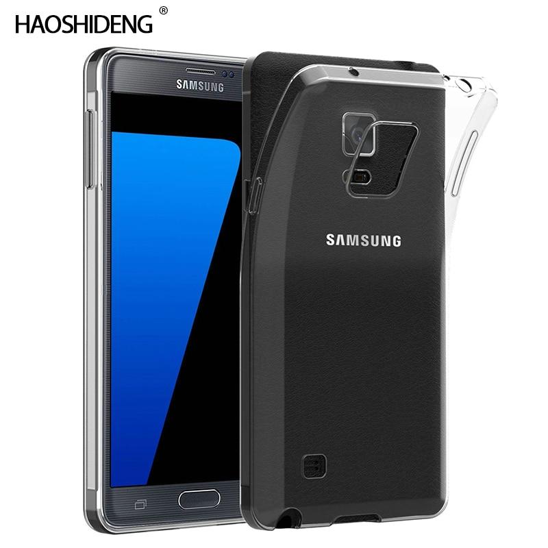 Funda trasera protectora funda para samsung Galaxy Note 4 TPU silicona duradera transparente suave funda para samsung Note 4 N910F