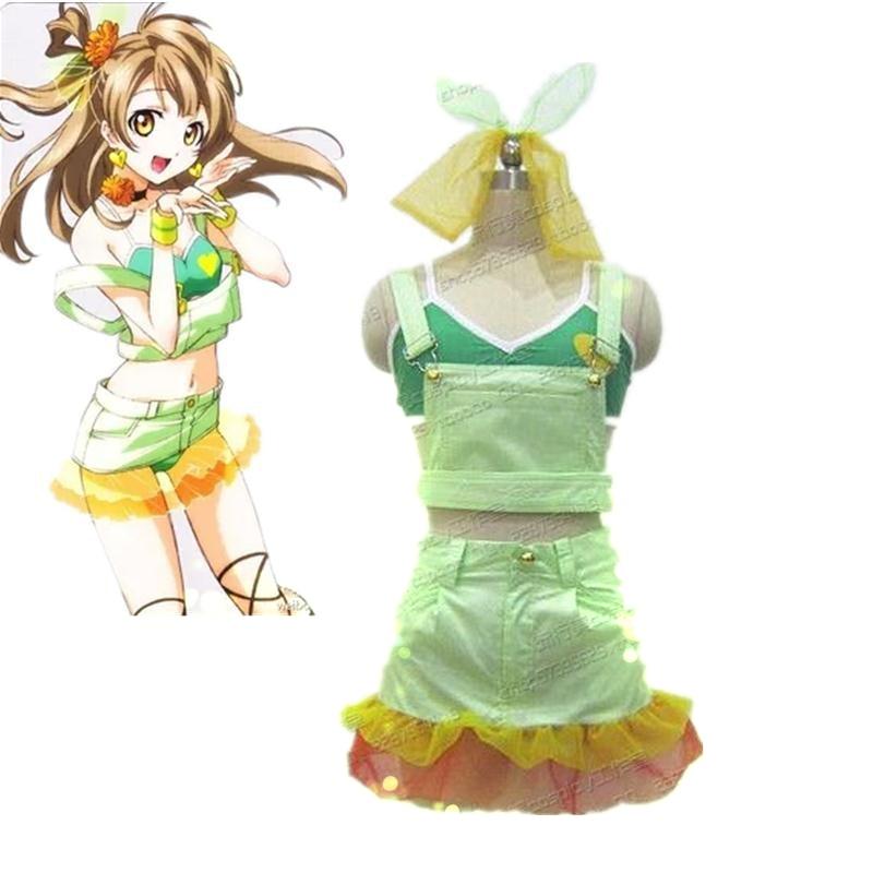 Amor vivo Minami Kotori sirena festa vol.1 verano Bikini traje de baño Cosplay estilo de verano
