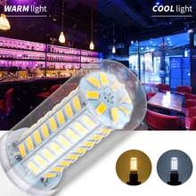 E14 LED Lamp 220V E27 Led Corn Bulb 7W 12W 15W 18W 5730 230V Bombilla Led Candle Light 240V Replace Halogen For Home Decoration