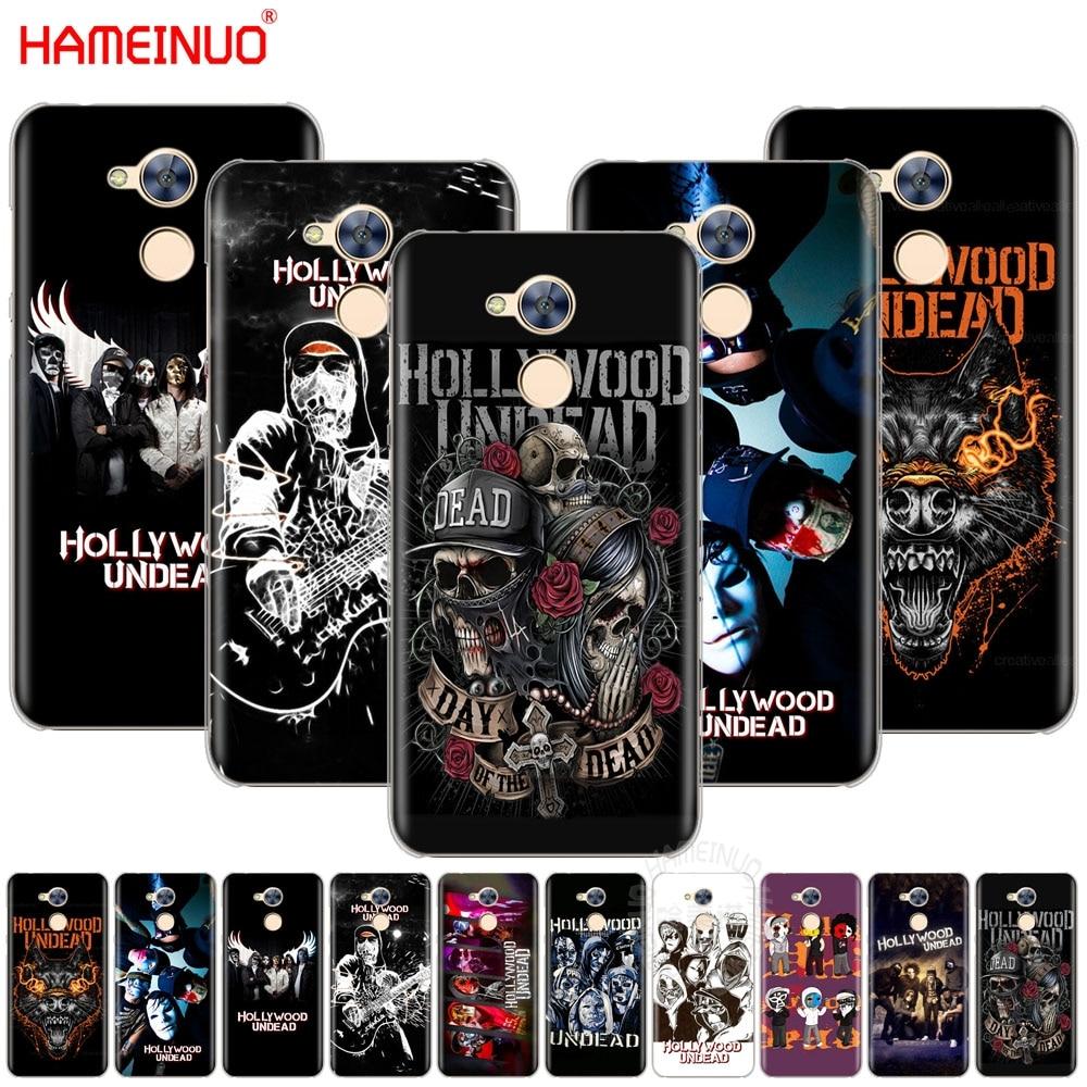 Hollywood undead cubierta del teléfono para Huawei Honor 10 V10 4A 5A 6A 7A 6C 6X7X8 9 NOVA 2 2S PLUS LITE