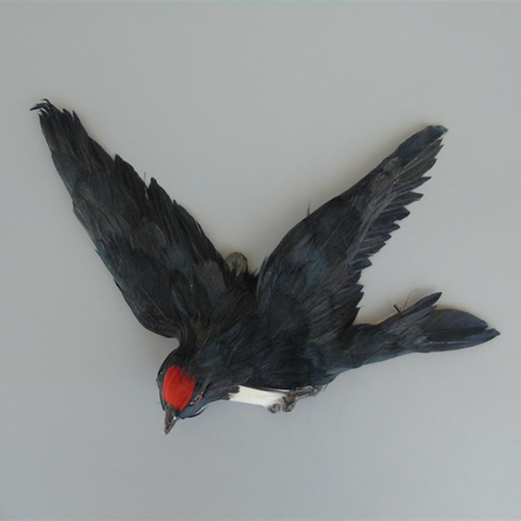 Simulación de plumas de animales colgar la golondrina yan creativo artículos de decoración del hogar Accesorios de ventana
