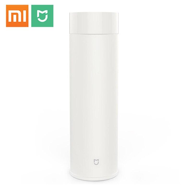 Xiaomi Mijia 500 ml Balão De Vácuo Do Copo Caneca de Chá de Água Garrafa Térmica Com Isolamento de Calor Térmico 316L 12 Horas de Aço Inoxidável Quente /frio Manter