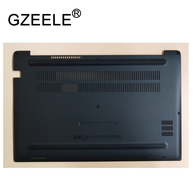 GZEELE, nuevo para Dell Latitude 7480 E7480, funda de base inferior D, funda 0JW2CD JW2CD, Panel de acceso, carcasa de puerta negra