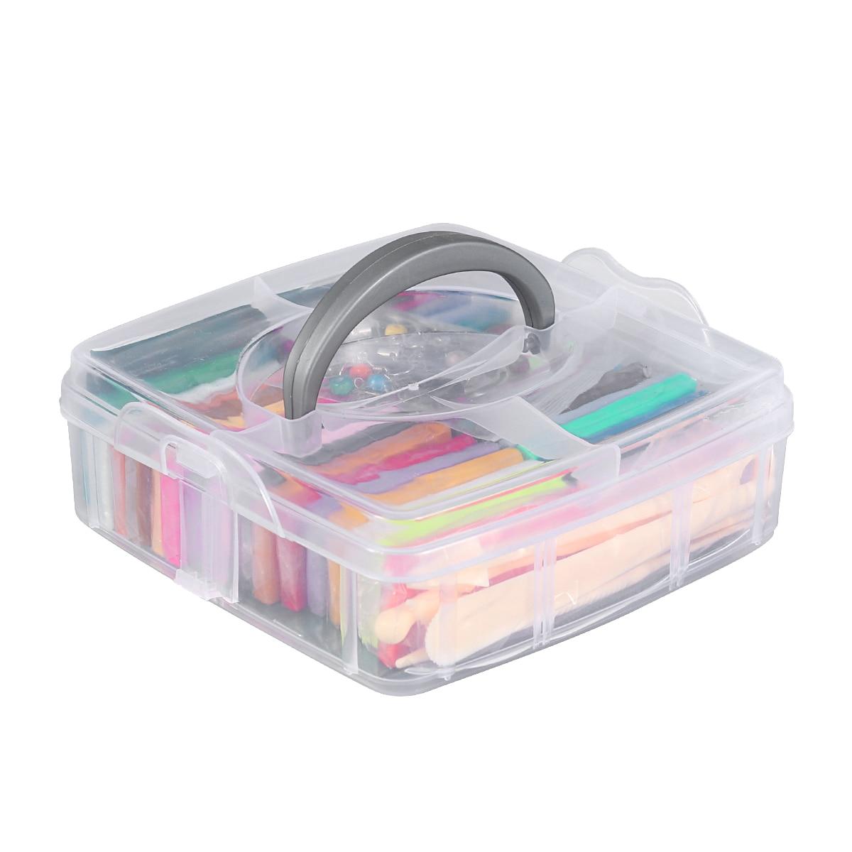 Kit de arcilla de modelado de 32 colores para hornear arcilla polimérica DIY Kit creativo de modelado de bloques de arcilla juguetes para chico y niño