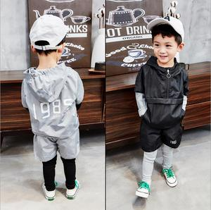 2PCS Suit Baby Boy Clothes Children spring and autumn Toddler Boys Clothing set 2019 New Kids Cotton Cute Fashion Sets 2-6years