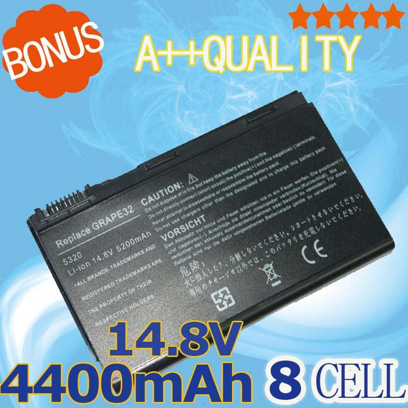 8 célula de la batería para AcerExtensa 5210, 5220, 5230, 5420, 5610,...