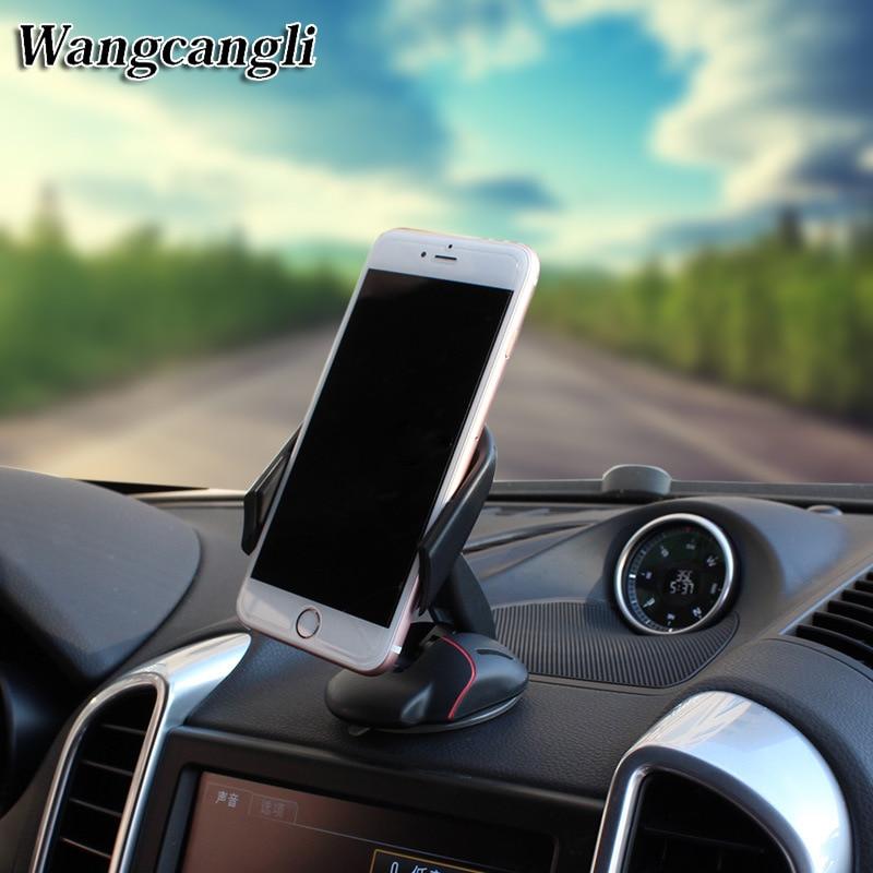 Wangcangli-حامل هاتف السيارة gps ، كوب شفط عالمي ، ماوس ، حامل هاتف السيارة