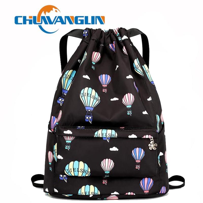 Chuwanglin saco de cordão feminino grinch natal moda mochila feminina worek plecak sznurek drawstring mochilas j42902