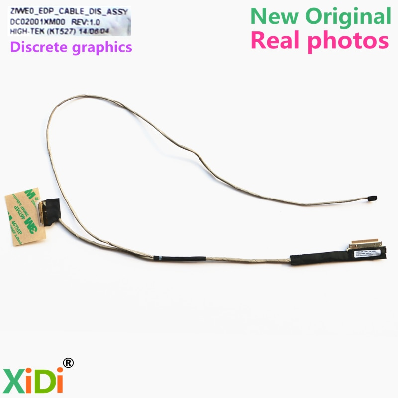 NEW DC02001XM00 CABLE FOR LENOVO E40 E40-30 E40-70 E40-80 E41-80 LCD LVDS CABLE